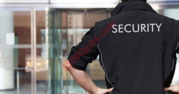 وظائف شركة أنظمة أمنية