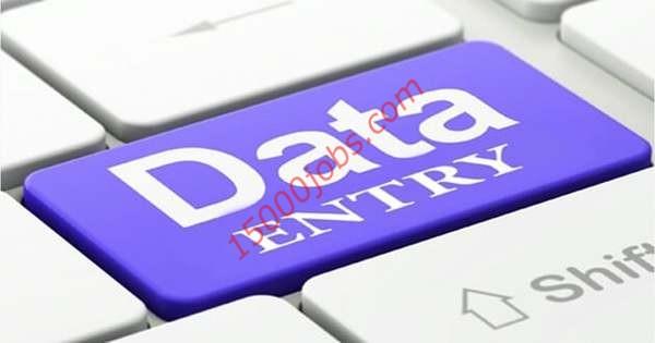 مطلوب مدخل بيانات