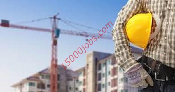 مطلوب مهندسين مدنيين ومشرفي مواقع لشركة مقاولات بدبي