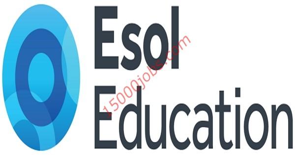 وظائف مجموعة Esol التعليمية بالإمارات للعام الدراسي 2019 – 2020