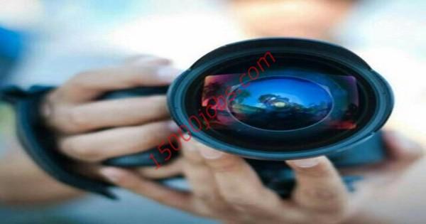 مطلوب مصورين فوتوغرافي وفيديو لشركة دعاية وإعلان بالكويت