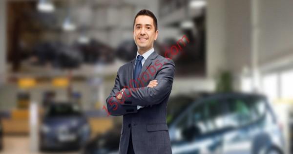 وظائف تسويق ومبيعات لشركة خدمات سيارات كبرى في الكويت