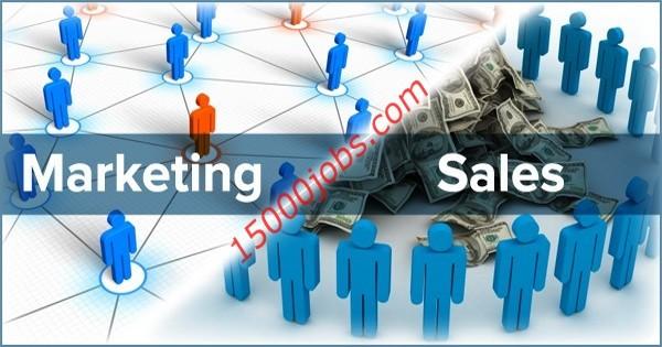 وظائف بمجال التسويق والمبيعات بشركة تجارة الكترونية بالكويت