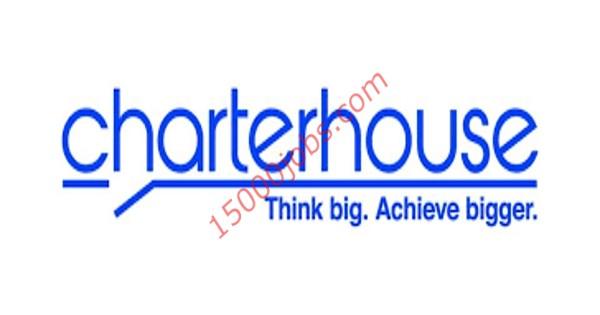 شركة شارتر هاوس قطر تعلن عن وظائف متنوعة