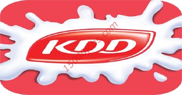 وظائف شركة كي دي دي للألبان في الكويت