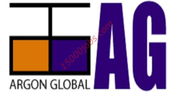 شركة أرجون جلوبال في قطر تعلن عن وظائف متنوعة