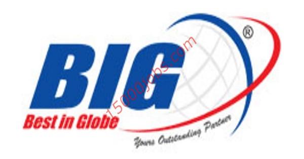شركة BIG للتجارة والمقاولات بقطر تعلن عن وظيفتين شاغرتين