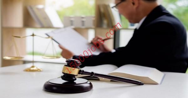 مطلوب مندوبين محاماة وسكرتارية لشركة قانونية بالكويت