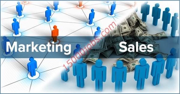 مطلوب مندوبين تسويق ومبيعات للعمل في شركة بالكويت