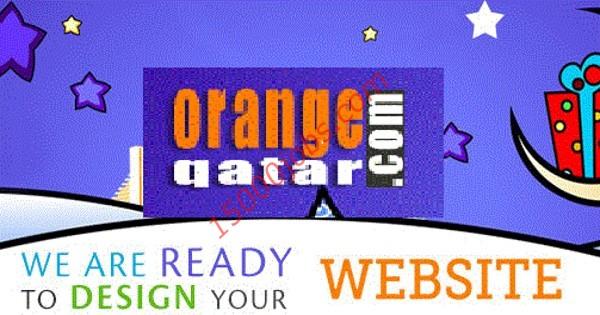 وظائف شركة أورانج لتصميم المواقع في قطر لعدة تخصصات