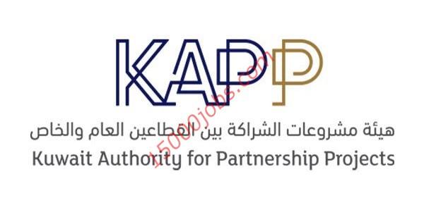 وظائف هيئة مشروعات الشراكة KAPP للكويتيين من كافة التخصصات