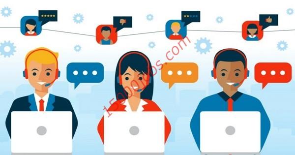 مطلوب موظفي خدمة عملاء للعمل في شركة رائدة بالكويت