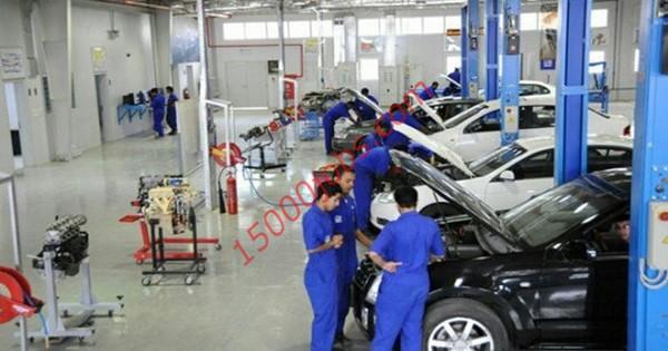 مطلوب فنيين ميكانيكا وكهرباء سيارات لشركة بحرينية