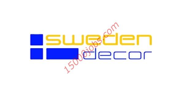 وظائف شركة سويدن ديكور في قطر لمختلف التخصصات